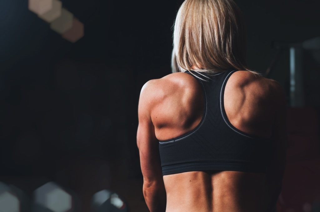 maintaining muscle tone in the core and back can help alleviate back pain