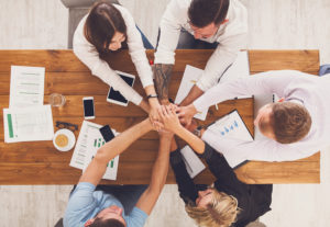 building relationships through an online community