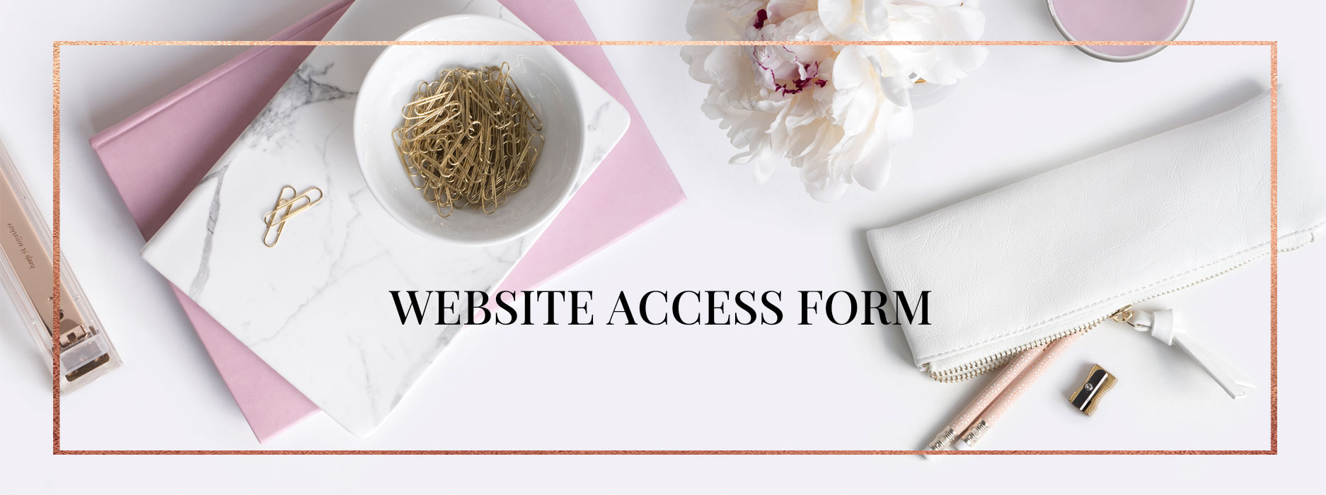 web access form hosting and domain registration