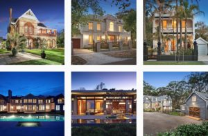 nighttime real estate photography