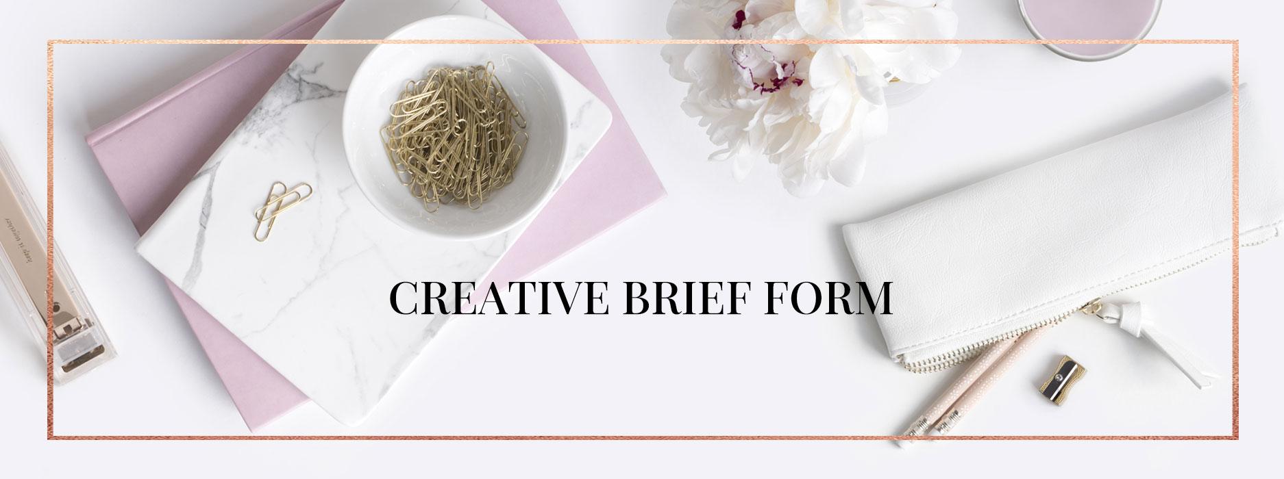 creative brief form