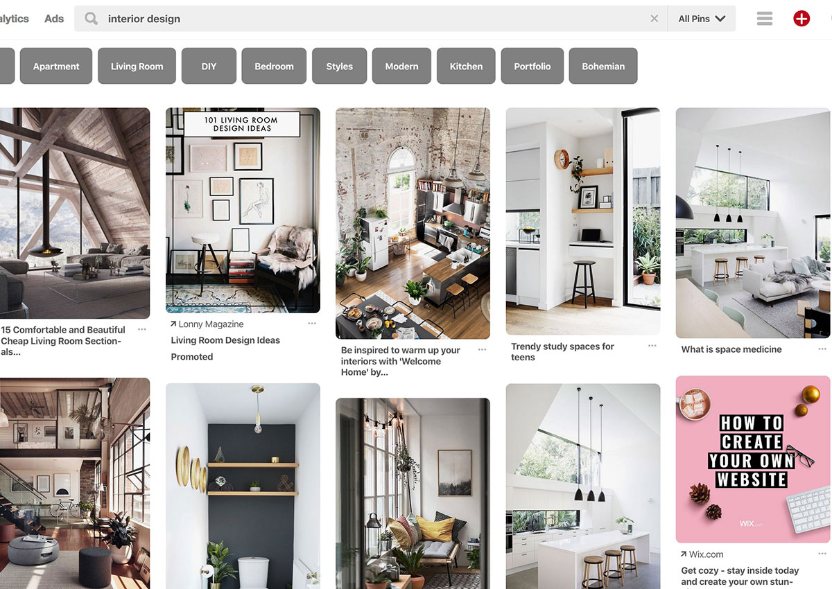 What Would Pinterest Do? A New Way To Find Your Next Interior Design