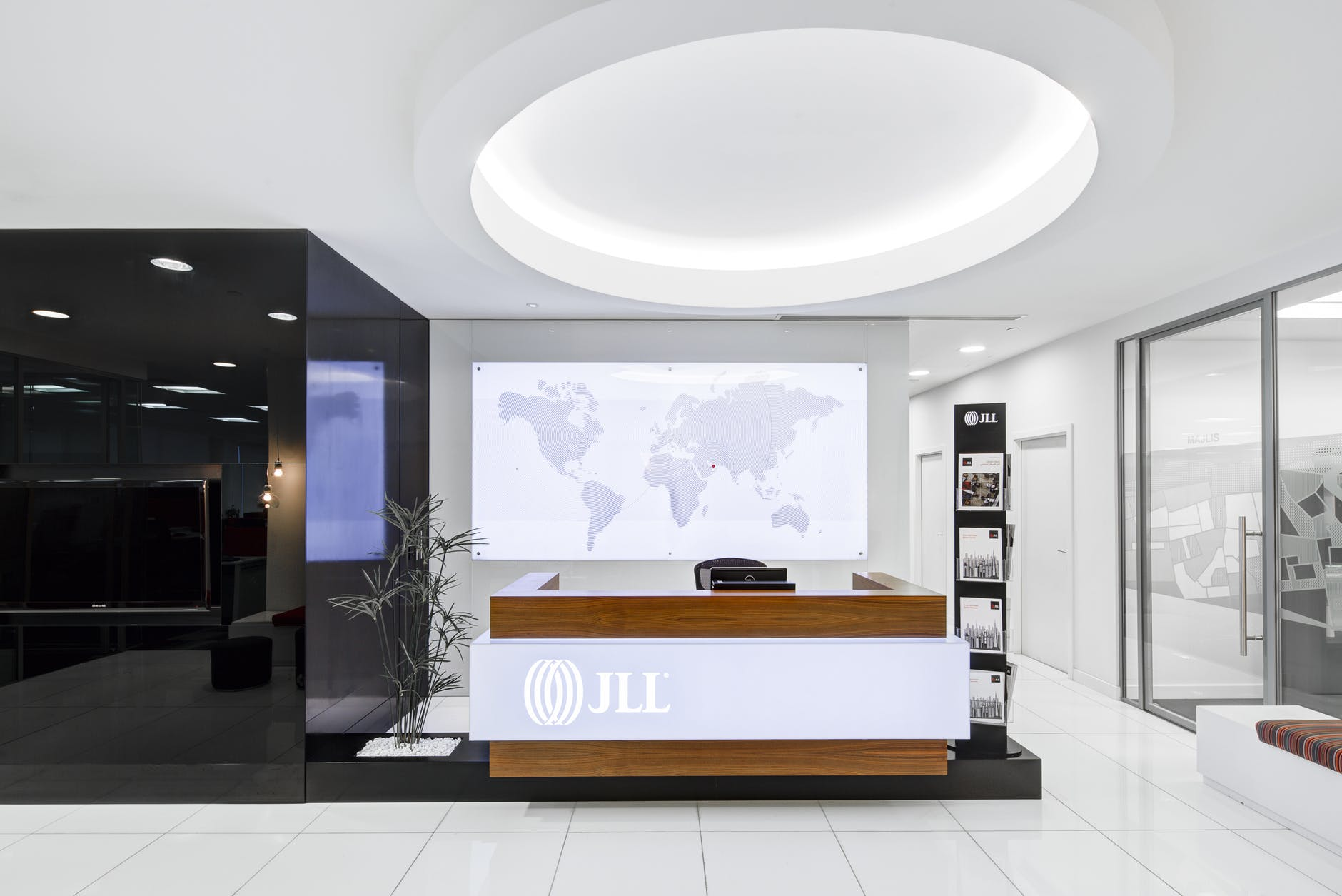 Business Reception area