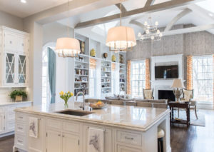 LOUISVILLE GLAMOROUS KITCHEN MODERN WITH CUSTOM HOME TRANSITIONAL FAUCETS
