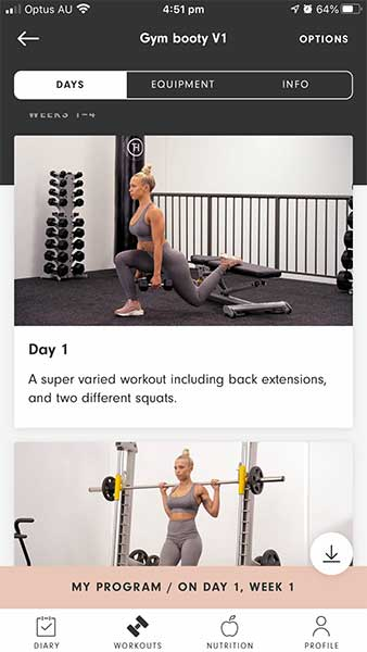 tammy fit workout
